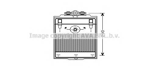 AVA QUALITY COOLING BW3400 масляный радиатор, двигате�